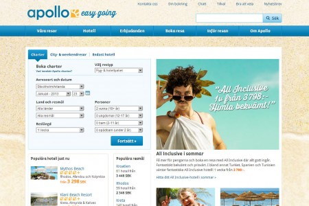 Apollo.se - Travelreport.se